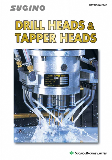 Sugino Drill Heads and Tapper Heads