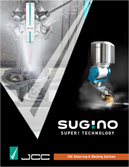 Sugino JCC CNC Deburring and Washing Systems