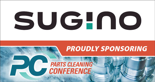 Sugino Sponsorship of the Parts Cleaning Conference